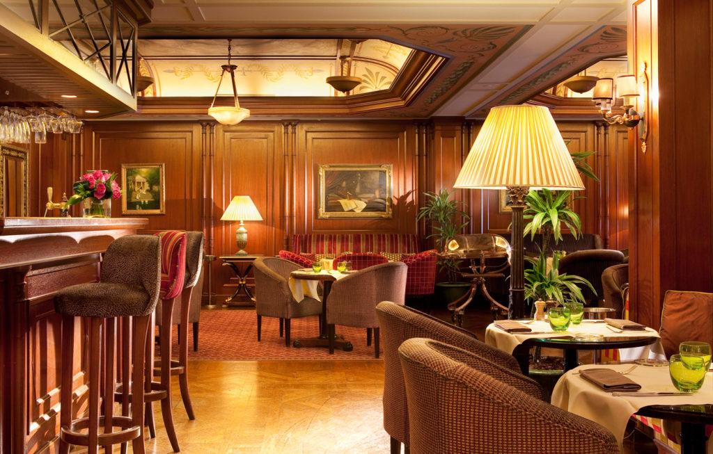 Интерьеры гостиницы