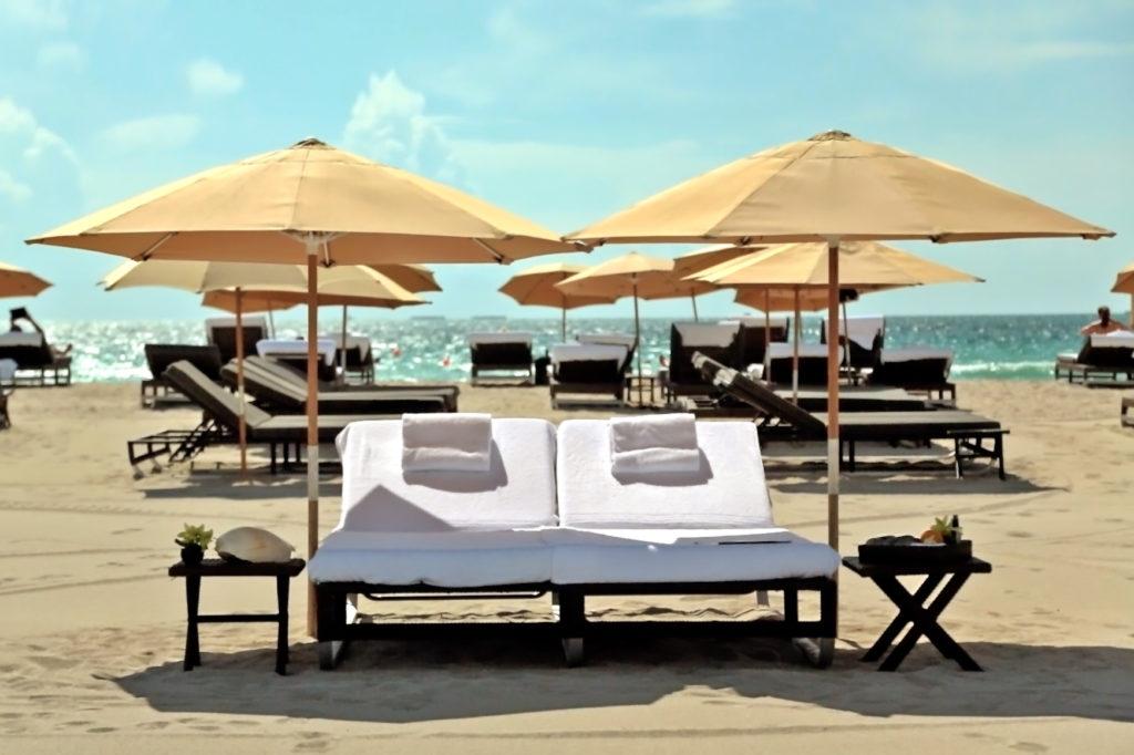 Пляж отеля Setai 5*